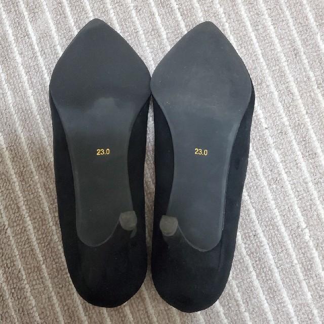 RANDA(ランダ)のパンプス 黒 レディースの靴/シューズ(ハイヒール/パンプス)の商品写真