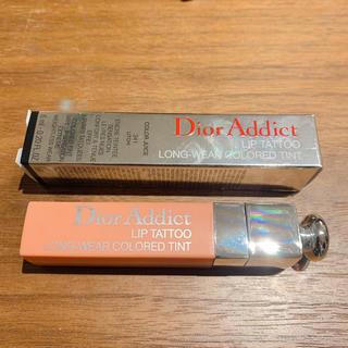 ディオール(Dior)のDior アディクトリップティント 限定色 341 ライチ (口紅)