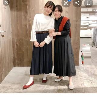 ムジルシリョウヒン(MUJI (無印良品))の無印良品 袴 パンツ S ブラック        ハカマ はかま(その他)