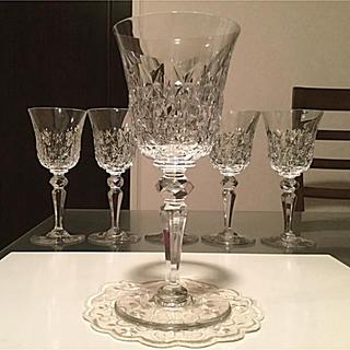 Baccarat - ☆極希少☆ アンティーク バカラ  シェドゥーヴル ワイングラス 1脚 ②