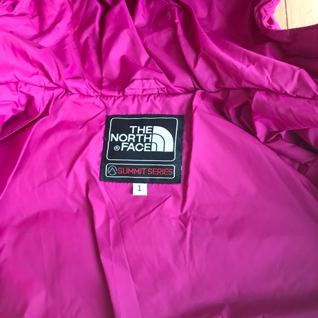 THE NORTH FACE(ザノースフェイス)のザノースフェイス ダウン キッズ/ベビー/マタニティのキッズ服女の子用(90cm~)(ジャケット/上着)の商品写真
