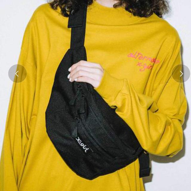 X-girl(エックスガール)の【美品】ウエストバッグ X-girl エックスガール レディースのバッグ(ボディバッグ/ウエストポーチ)の商品写真