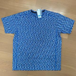 GU - GU sports Tシャツ(クルーネックT(半袖)(メランジ)GS)