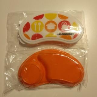 ルクルーゼ(LE CREUSET)のル・クルーゼ 離乳食セット 冷蔵庫サイドロック 2つセットで(離乳食器セット)