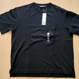 UNIQLO - ユニクロU オーバーサイズクルーネックT 黒 XLサイズ
