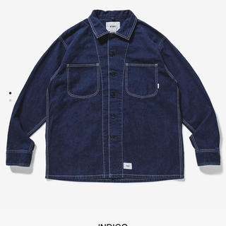 W)taps - wtaps MINE LS / SHIRT. COTTON. DENIM