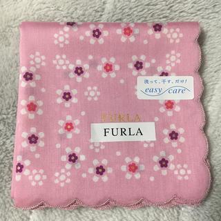 Furla - FURLA フルラ ハンカチ ピンク 花柄 新品