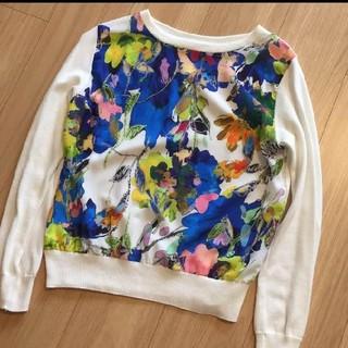 Chesty - rous フラワー柄セーター 花柄セーター