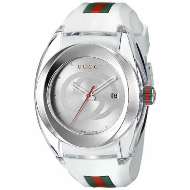 PIAGET 時計 新品 スーパー コピー - Gucci - 2点あり!★GUCCI グッチ腕時計SYNC YA137102 ホワイトの通販