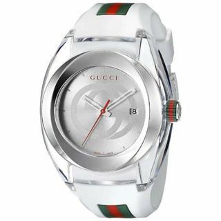 Gucci - GUCCI グッチ腕時計SYNC YA137102 ホワイト