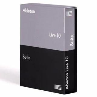 専用 Ableton Live 10 suite ライセンス譲渡(DAWソフトウェア)