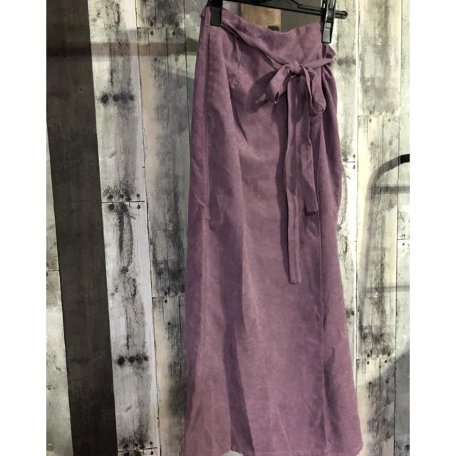 mystic(ミスティック)のmystic★ピーチラップスカート★p timesale レディースのスカート(ロングスカート)の商品写真