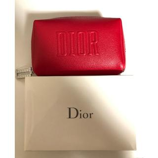 Christian Dior - ディオール レッドポーチ 新品