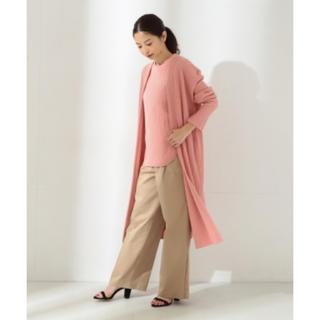 TOMORROWLAND - Demi-Luxe BEAMS 春色ロングニットカーディガン美品