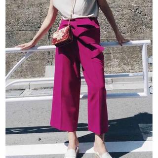 Ameri VINTAGE - Ameri vintage obi wide pants アメリ