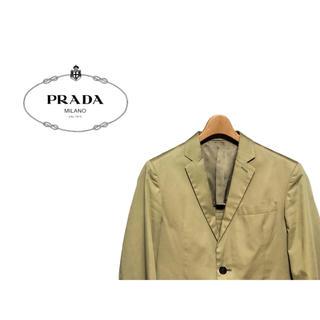プラダ(PRADA)のPRADA チノ テーラードジャケット / プラダ スーツ コットン スポーツ(テーラードジャケット)