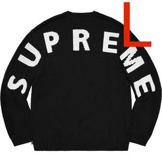 シュプリーム(Supreme)のLサイズ Supreme Back Logo Sweater(ニット/セーター)