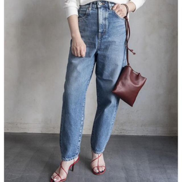 ENFOLD(エンフォルド)のナゴンスタンス modest jeans  nagonstans レディースのパンツ(デニム/ジーンズ)の商品写真