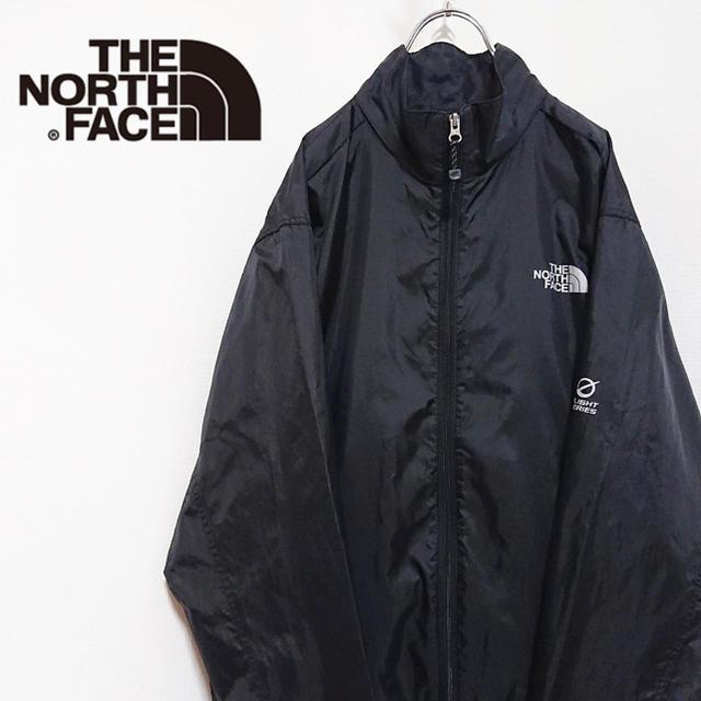 THE NORTH FACE(ザノースフェイス)の古着 used the northface ノースフェイス ウインドブレーカー メンズのジャケット/アウター(ナイロンジャケット)の商品写真