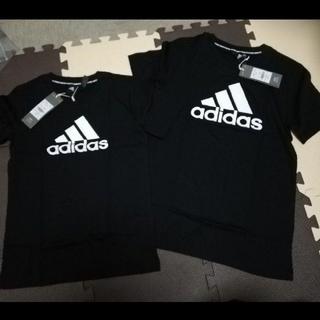 adidas - 新品タグつきadidas Tシャツ 黒130、150センチ