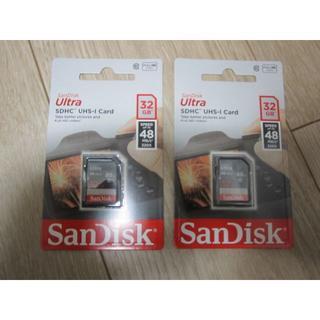 SanDisk - SanDisk SDカード 32GB 2枚 新品未使用②