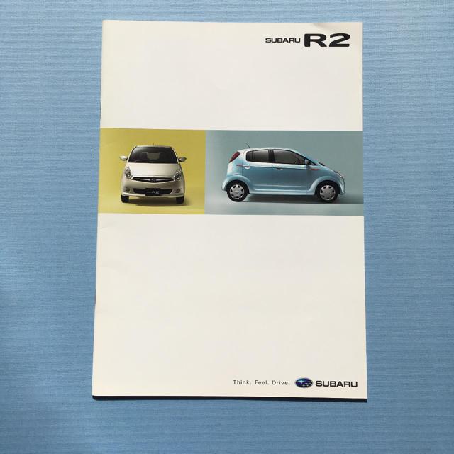 スバル(スバル)のスバル R2 カタログ 自動車/バイクの自動車(カタログ/マニュアル)の商品写真