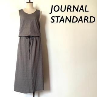 JOURNAL STANDARD - JOURNAL STANDARD ノースリーブ コットン ロングワンピース