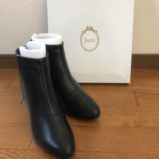 新品(株)ジュン JUZEジュゼ ショートブーツ(ブーツ)