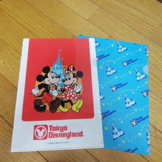 Disney - 東京ディズニーランド 25周年限定 クリアファイル