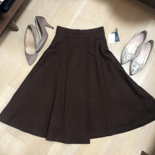 Drawer - 【定価4.3万】リッチブラウン♡贅沢フレアースカート