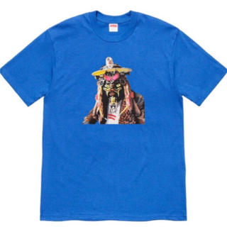 Supreme - Supreme Rammellzee Tee L Royal 青 tシャツ