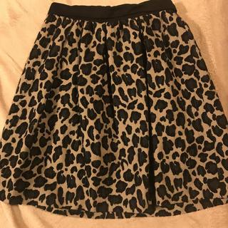 Demi-Luxe BEAMS - デミルクス ビームス レオパード柄スカート 38サイズ