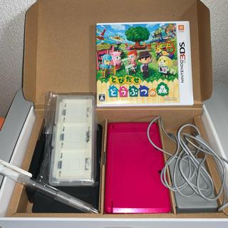 ニンテンドー3DS - ニンテンドー 3DS本体 +どうぶつの森