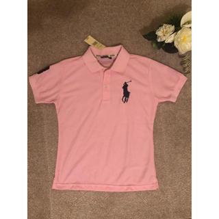 POLO RALPH LAUREN - ポロラルフローレン ビッグポニー ポロシャツ ピンク ゴルフ Sサイズ