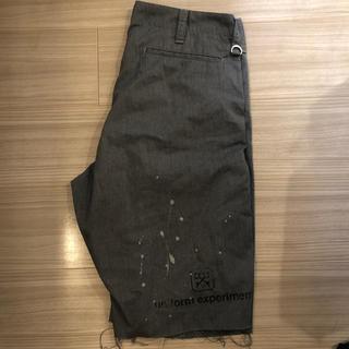 ユニフォームエクスペリメント(uniform experiment)のuniform experiment dripping shorts(ショートパンツ)
