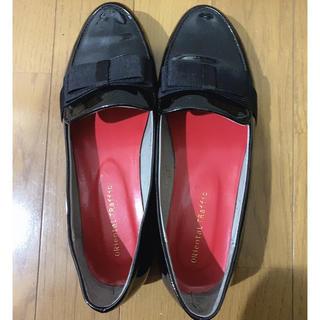 オリエンタルトラフィック(ORiental TRaffic)のオリエンタルトラフィック フラットシューズ エナメルシューズ リボン(ローファー/革靴)