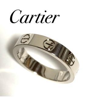 Cartier - カルティエ Cartier K18WG ラブリング WG 48号