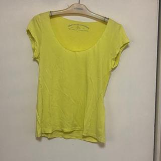 コントワーデコトニエ(Comptoir des cotonniers)のコントワーデコトニエ  イエローTシャツ(Tシャツ(半袖/袖なし))