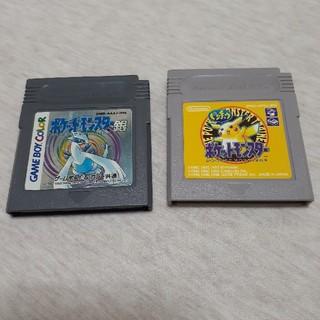 あき様専用 ゲームボーイソフト×2(携帯用ゲームソフト)