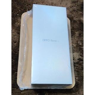 ラクテン(Rakuten)の新品未使用 送料無料 楽天モバイル版OPPO RenoA ブラック(スマートフォン本体)