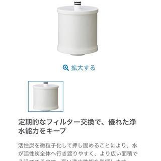 アムウェイ(Amway)のアムウェイ BathSpringバスルーム浄水器 交換用フィルター(浄水機)