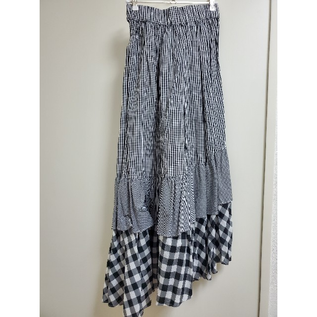 snidel(スナイデル)のイレヘムスカート レディース snidel レディースのスカート(ロングスカート)の商品写真