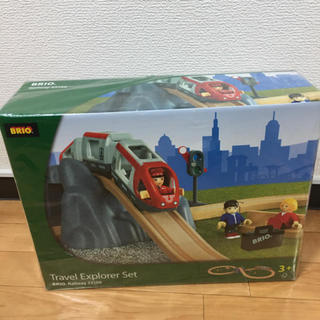 ブリオ(BRIO)のBRIO ブリオ 8の字トラベルセット(電車のおもちゃ/車)