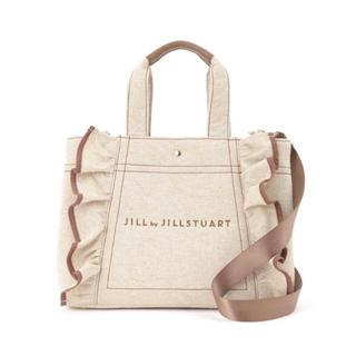 JILL by JILLSTUART - 新品未使用 ジルバイジルスチュアート バッグ 大 ベージュ