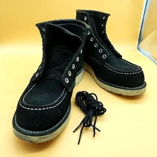 レッドウィング(REDWING)のREDWING 8874 モックトゥ スエード ブーツ US71/2D  中古品(ブーツ)