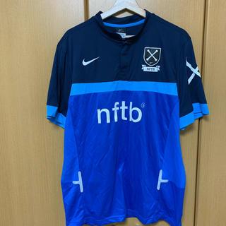 NIKE - NIKE NFTB サッカー シャツ ブルー