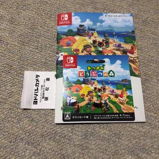 Nintendo Switch - どうぶつの森 ダウンロード版