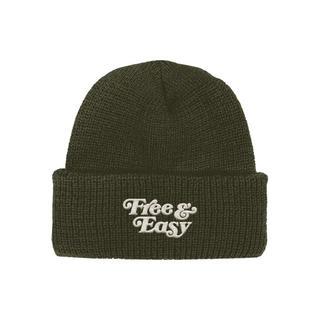 ロンハーマン(Ron Herman)の【FREE&EASY】ニット帽 ビーニー  ロンハーマン取扱 新品未使用(ニット帽/ビーニー)