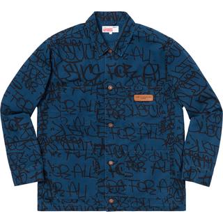 シュプリーム(Supreme)のSupreme Cotton Painted Canvas Chore Coat(カバーオール)