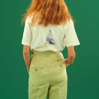 ミッドウエスト(MIDWEST)のPONTI ポンティ 刺繍スラックス パンツ(カジュアルパンツ)